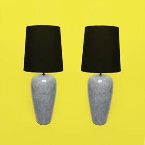 Lampe-Mouchete-Ceramique-Annees-80-Era-Memphis-Milano-Sottsass-Granit-Postmodern