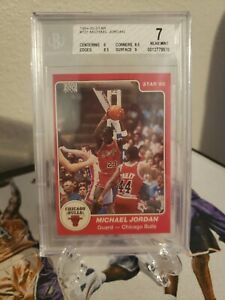 1984 Star Basketball Michael Jordan ROOKIE XRC #101 BGS 7 Chicago Bulls Rookie