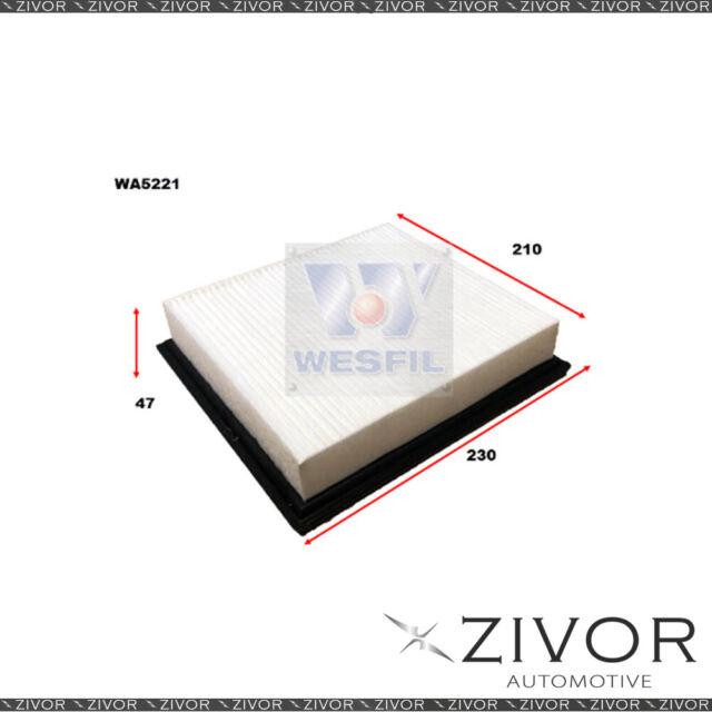 Wesfil Air Filter For Chrysler Sebring 2.4L 05/07-06/10 - WA5221 *By Zivor*
