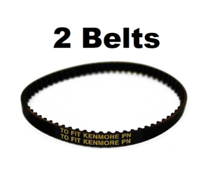 2 Pack of Powerhead Belts for Centec CT14DX Central Vacuum Vac