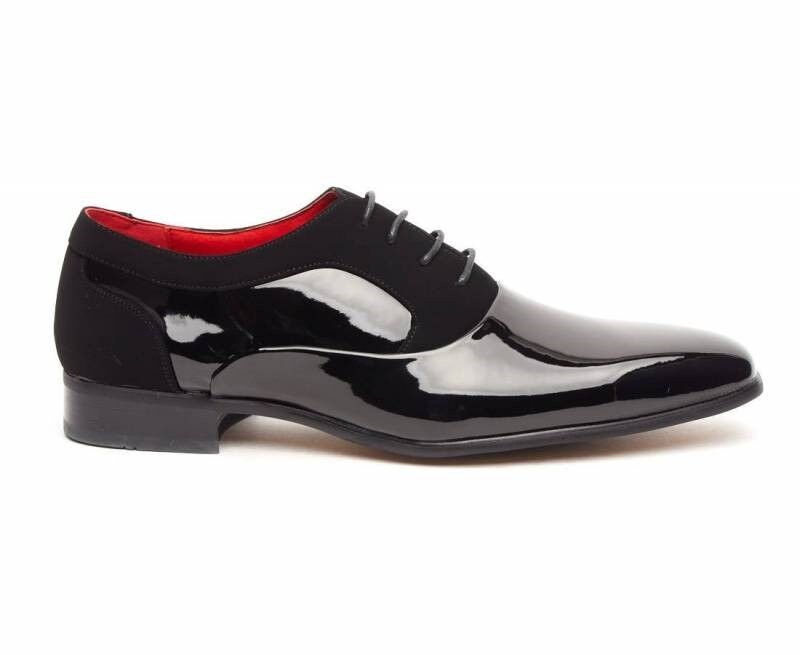 Rossellini Roberto uomo uomo uomo scarpe LACCI CALATA Neri Punta Scarpa Casual | Nuovo design diverso  784e52