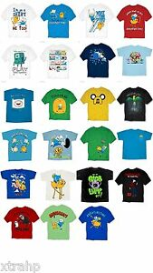 Adventure-Time-With-Finn-And-Jake-Adult-Men-T-Shirt-S-M-L-XL-2XL