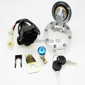 Fuel-Gas-Cap-Ignition-Switch-Seat-Lock-Key-Set-For-Yamaha-YZF-R1-R6-2000-2011-09
