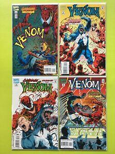 Venom-Carnage-Unleashed-1-2-3-4-1995-Marvel-NM-9-4