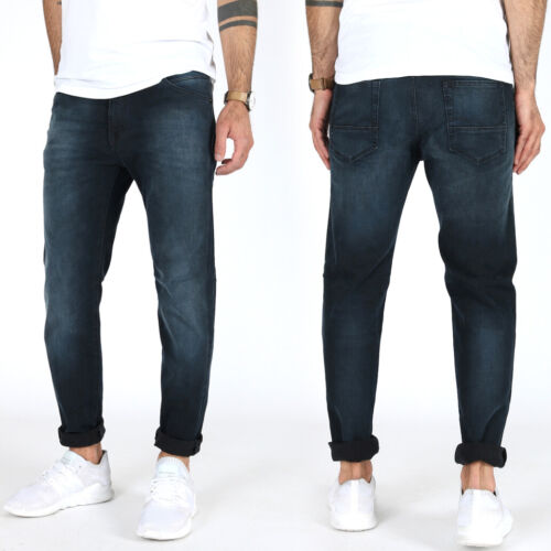 Jack /& Jones STRETCH UOMO SLIM FIT Jeans a Sigaretta PantaloniUVP 99,99 €