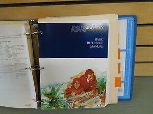 Atari Reference Manual Binder 400/800 Reference Manual DOS 3 Program Exchange ++