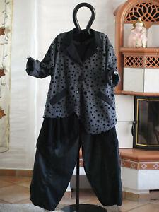 Print Mexxoo Gris Design XL 48 asymétrique 8390 44 46 Veste Flock Noir L qTCxHfwIZI
