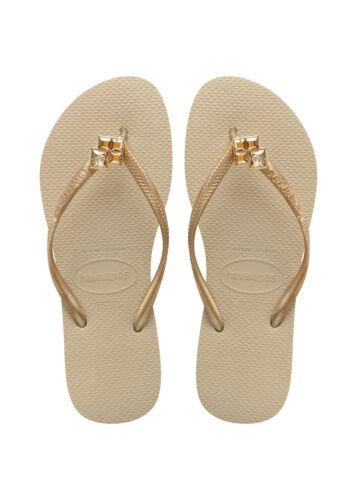 Nuovo Grigio Beige Oro Sabbia Epic Slippers Slim Havaianas Thong Thongs ngXxw8qSzA