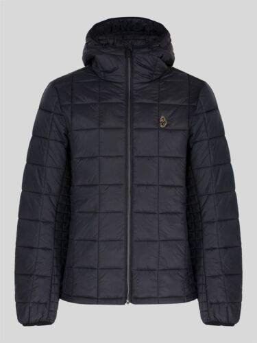 Luke 1977 Mens SOUTHY QUILTED HOODED JACKET