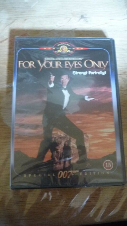 007 for your eyes only, DVD, action