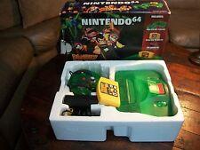 RARE Donkey Kong Funtastic Jungle Green Nintendo 64 N64 COMPLETE in Box, Red Pak