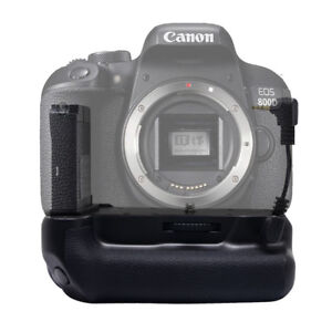 Details about Vertical Multi-function Battery Grip For Canon EOS  800D/T7i/X9i/77D/9000D Camera