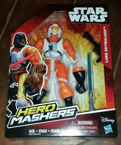 Disney Star Wars Hero Mashers Luke Skywalker ACTION FIGURE!