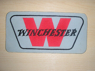 VINTAGE WINCHESTER RIFLES LARGE SEW ON EMBROIDERED PATCH