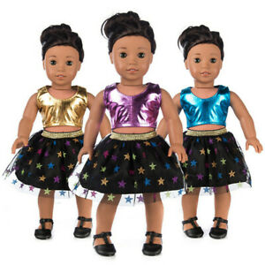 Clothes-Skirt-Dress-Suit-For-18-Inch-American-Boys-Doll-Accessory-Girls-Toys