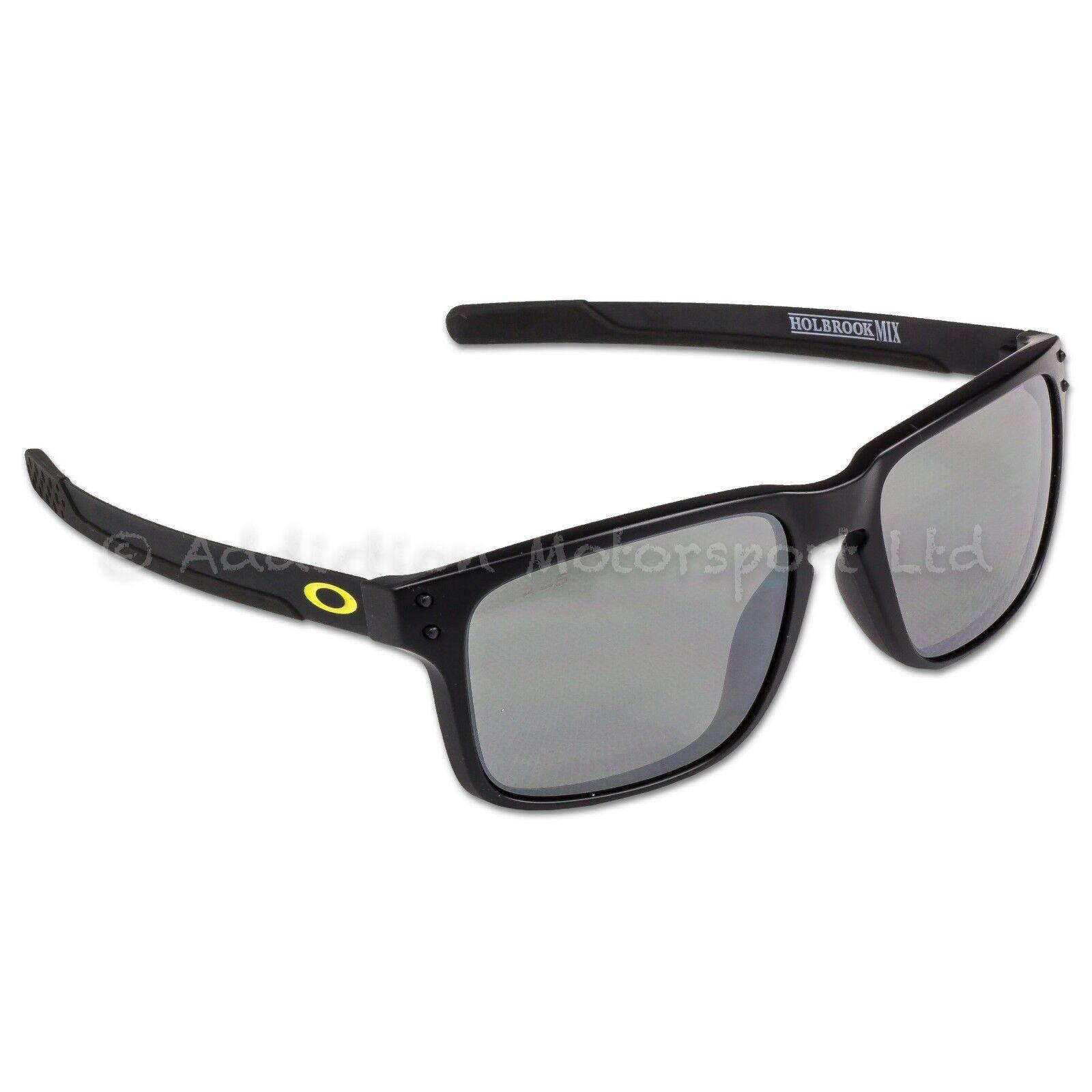2f5f4f4988 Oakley Holbrook Mix Vr46 Valentino Rossi Sunglasses Matte Black Polarized  for sale online