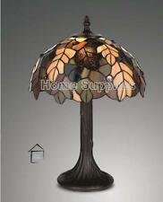 TIFFANY STYLE HANDCRAFTED TABLE LAMPS MEDIUM SIZE 12 INCH WIDE