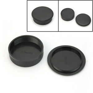 42mm-Plastic-Front-Screw-Mount-Rear-Cap-Cover-For-M42-Digital-Camera-Body-amp-Lens