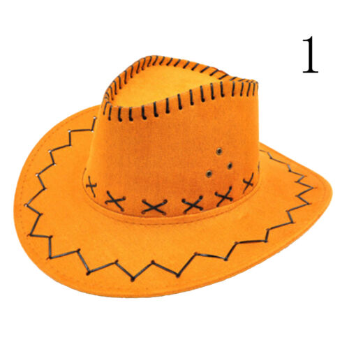 Halloween Style Western Cowgirl Cowboy Hat For Kid Boys Gilrs Party Costumes TPO