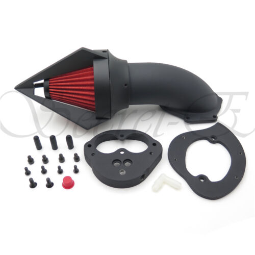 Air Cleaner Kits Intake For Kawasaki Vulcan 1500 1600 Classic 2000-2012 Matt Bla