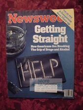 NEWSWEEK June 4 1984 Alcoholism Drug Addiction Steven Spielberg Olympic Arts +++