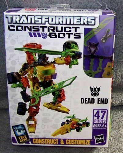 TRANSFORMERS CONSTRUCT BOTS DEAD END SET