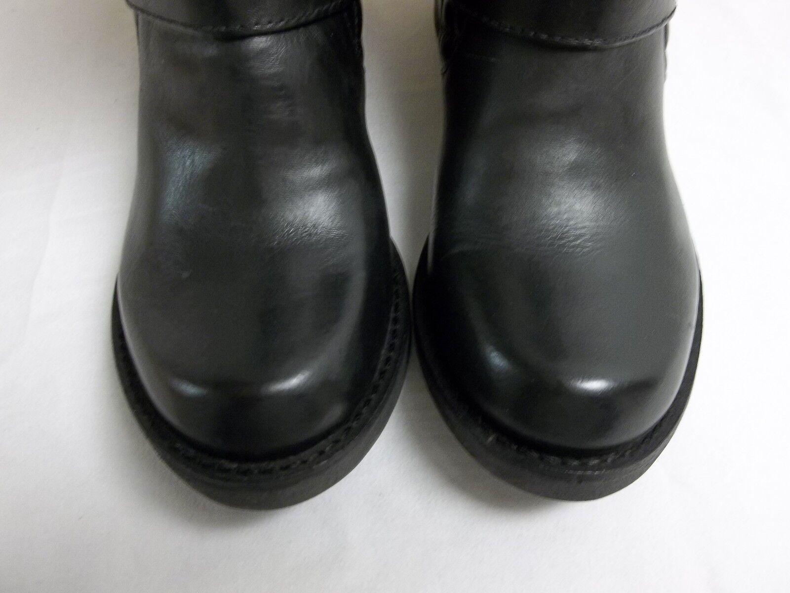 Matisse Negro tamaño 6 M Homestead Cuero Negro Matisse botas al Tobillo Zapatos para mujer Nuevo 018a3d
