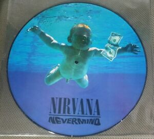 NIRVANA - NEVERMIND LP RARE PICTURE DISC MINT-
