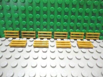 Lego 4 Pearl Gold 1x2 grille car truck vent NEW