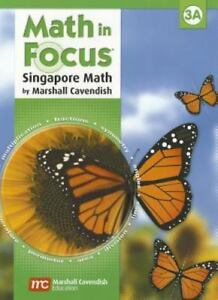 Details about Math in Focus : The Singapore Approach Student Book, Grade 3A