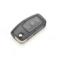 Flip Remote 3-BTS Key Shell Holder fit for FORD Focus Fiesta Case Replace FG