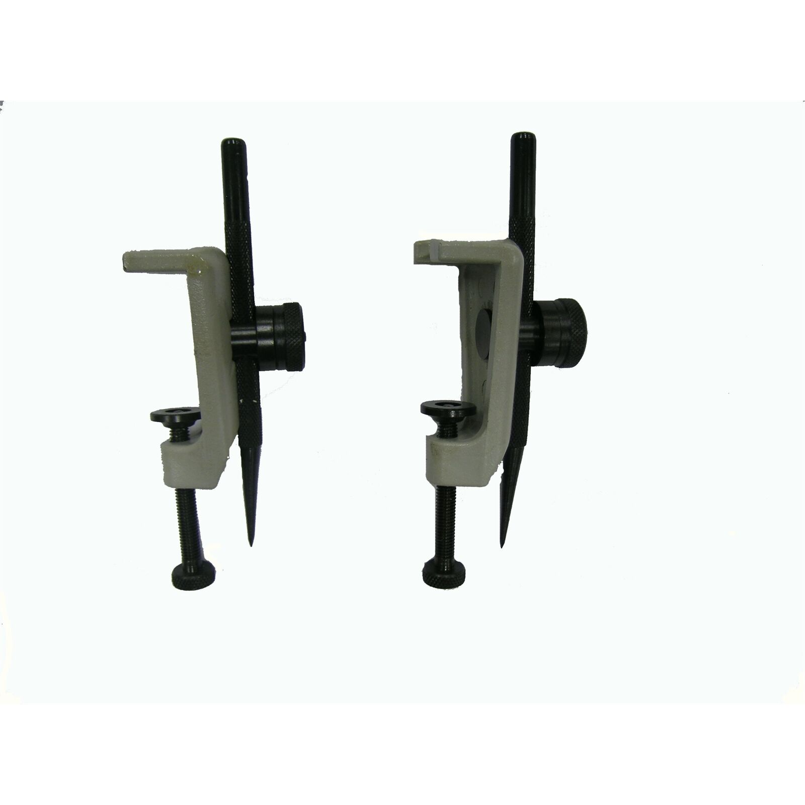 Eclipse TRAMMEL HEAD 1Pair Replaceable Hardened Points, Accepts 20-38mm Beams