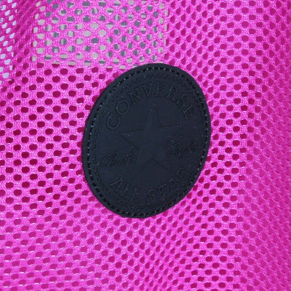 Converse All Star Chuck Taylor Mesh Backpack Cinch Tote Gymsack Pink Black Ebay