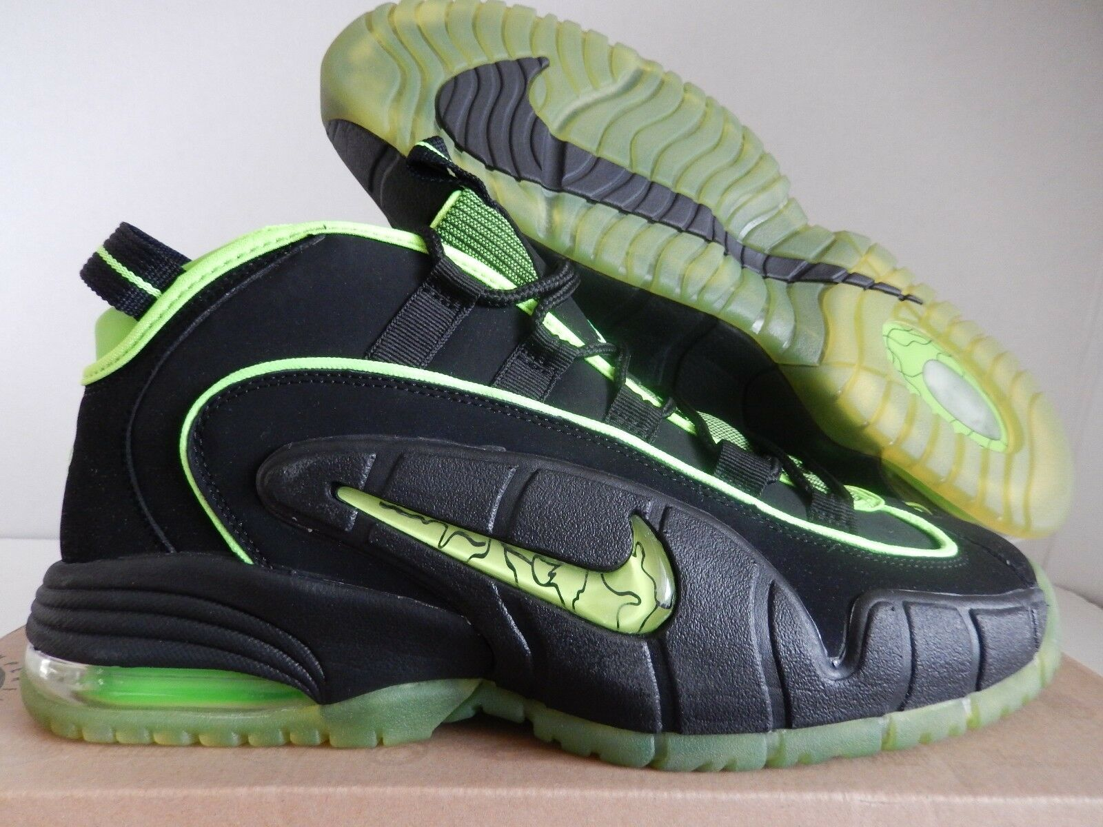 NIKE AIR PENNY 05 HOH  HOUSE OF OF OF HOOPS  BLACK HIGHLIGHTER PACK SZ 13 [438793-033] e6e08b