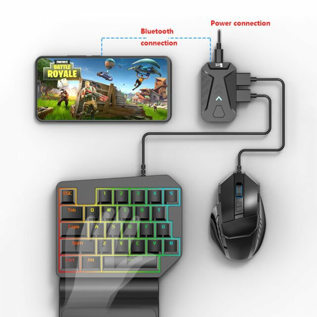Pubg Mobile Gaming Keyboard Mouse Adapter Converter For Android Ios Iphone For Sale Online