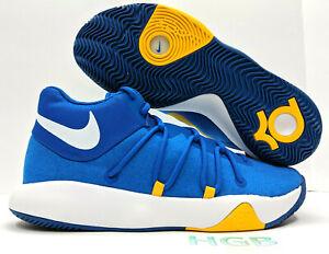Detalles acerca de Nike KD TRey 5 V baloncesto para hombre Azul Real Blanco Warriors Gimnasio 897638 400 Nuevo En Caja mostrar título original