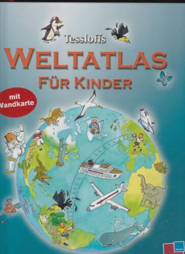 1 von 1 - Tessloffs Weltatlas für Kinder von Deborah Chancellor (2008, Gebunden) sehr gut
