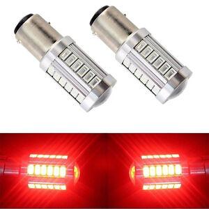 2pcs-Red-1157-P21W-33-SMD-5630-LED-Car-Tail-Stop-Brake-Lamp-Bulb-DC-12V-Lights