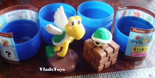 Furuta Choco Egg Super Mario Bros #3 Green Shell /& Koopa Paratroopa US Dealer