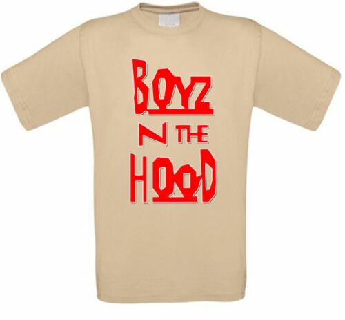 BOYZ N The capuche Gangsta in Kult Movie T-shirt TOUTES TAILLES NEUF