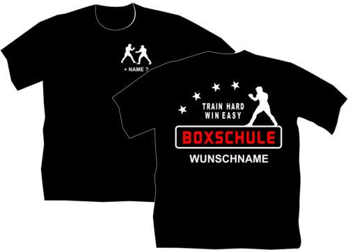 Boxen Boxschule Boxsport T-Shirt Bekleidung Training Boxschule Trikot Boxer 10