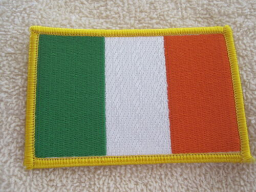 Ireland Irish Flag Embroidered Patch Tri//Color Flag Of Ireland AOH