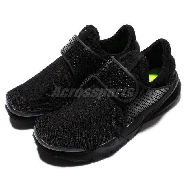 promo code cf565 73435 Nike Sock Dart Triple Black Mens Running Shoes Sneakers Slip-On NSW  819686-001