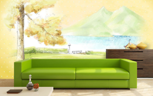 3D Landscape Home 87 Wall Paper Murals Wall Print Wall Wallpaper Mural AU Kyra
