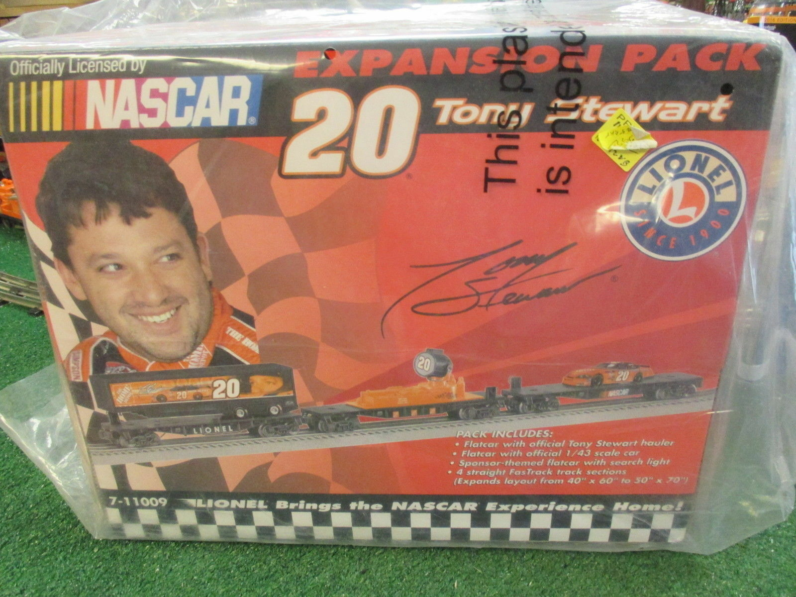 Lionel 11009 Tony Stewart Nascar Paquet D'Extension