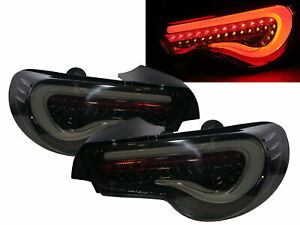 FR-S 2012-2016 Coupe LED Dynamic Turn signal Tail Rear Light Smoke EU for SCION