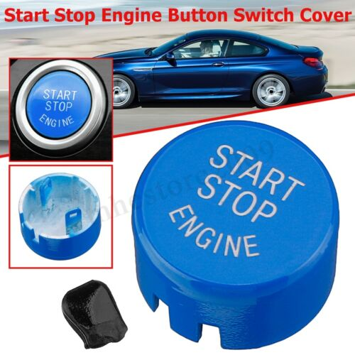 Engine Start Stop Button Switch Cover For BMW 5 6 7 Series F01 F10 F11 F12 09-13