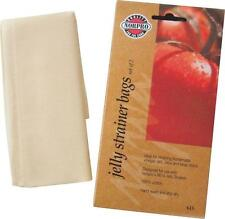 NEW NORPRO LOT OF (12) COTTON JELLY STRAINER CANNING BAGS #615 (6) 2PKS 0934802