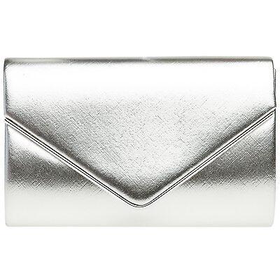 CASPAR TA372 elegante Damen Briefumschag Envelope Clutch Tasche Abendtasche