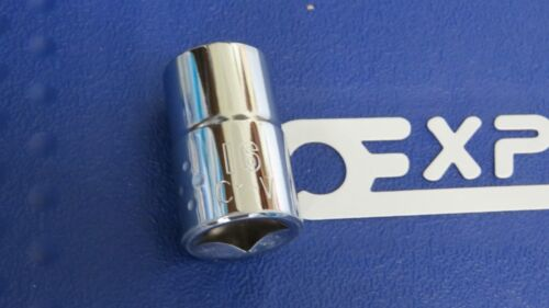 """16mm  SOCKET 1//2/"""" SQUARE DRIVE six sided  EXPERT by BRITOOL POLISHED CHROME"""